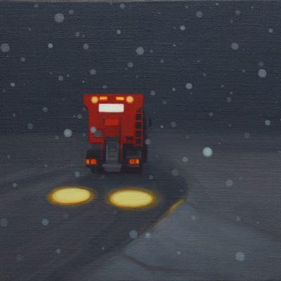 [A0090-0022] 눈오는 밤