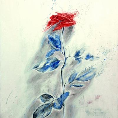 [A0110-0021] Red Rose -깜깜한 밤에도 당신의 손으로 꽃을 피워 봐요