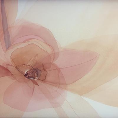 [A0111-0017] 투명한 꽃