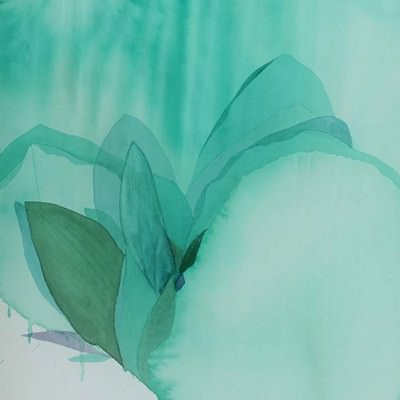[A0111-0025] 산에 비친 꽃 II