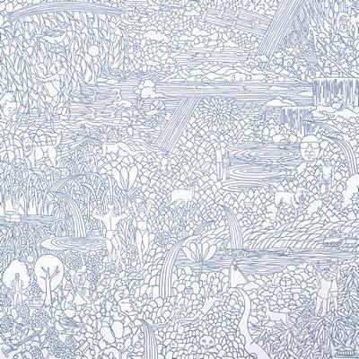 [A0112-0010] 채집풍경-선을 긋다