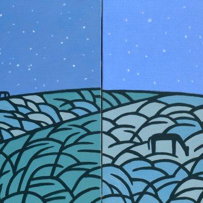 [A0112-0045] 채집풍경-밤오름