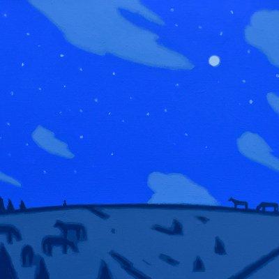 [A0112-0051] 채집풍경-밤오름