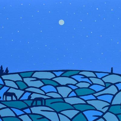 [A0112-0053] 채집풍경-밤오름