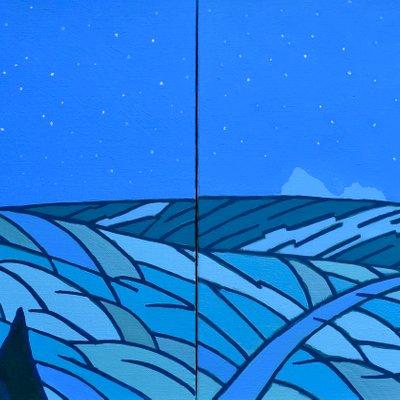 [A0112-0055] 채집풍경-밤오름