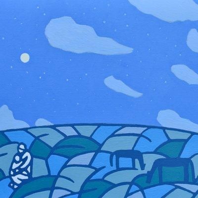 [A0112-0056] 채집풍경-밤오름