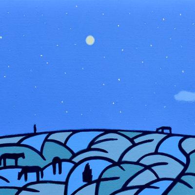 [A0112-0057] 채집풍경-밤오름