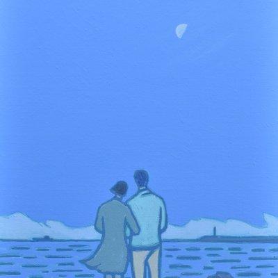 [A0112-0075] 채집풍경-연인