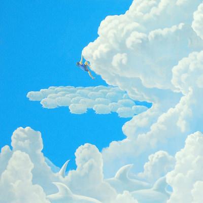 [A0113-0017] 어느 날 구름