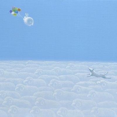 [A0113-0028] 어느 날 구름-너를 기다렸어!!