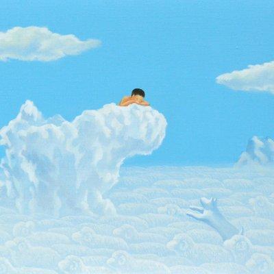 [A0113-0049] 어느날구름-안녕