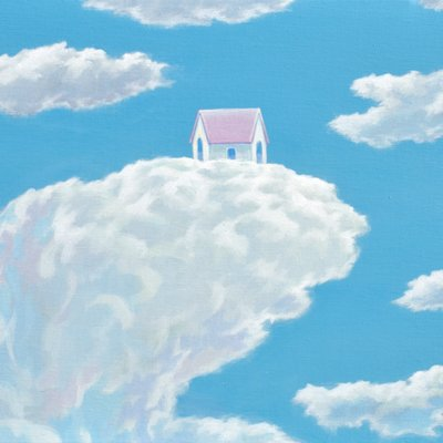 [A0113-0053] 어느날 구름-my childhood home