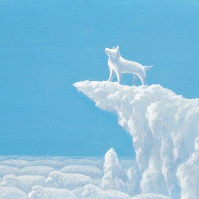 [A0113-0056] 어느 날 구름-good morning