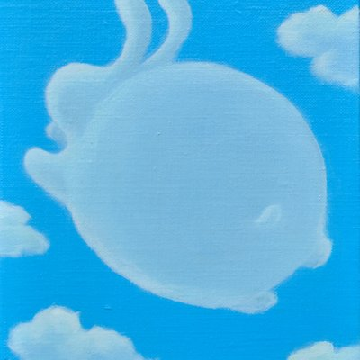 [A0113-0057] 어느 날 구름-run my rabbit