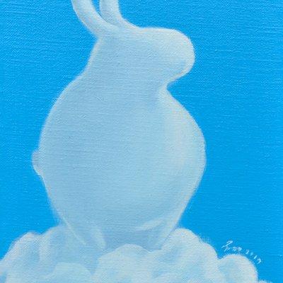 [A0113-0058] 어느 날 구름-my rabbit