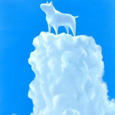 [A0113-0062] 어느 날 구름-my dog
