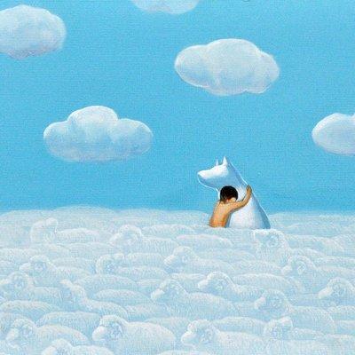 [A0113-0066] 어느 날 구름.-사랑해...