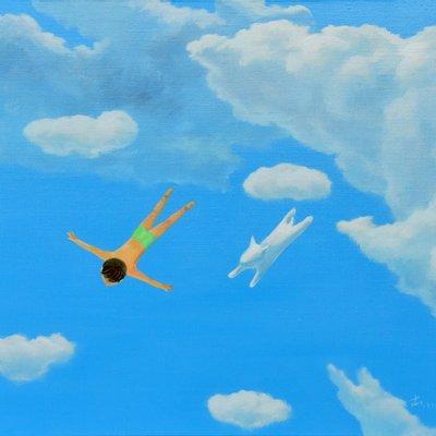 [A0113-0076] 어느날구름 - 다이빙2