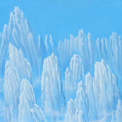 [A0113-0079] 어느날구름 - 푸른산수2