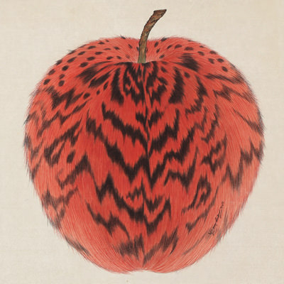 [A0116-0006] Leopard Apple -red