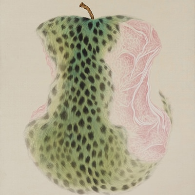 [A0116-0065] Leopard Apple-Fantasy