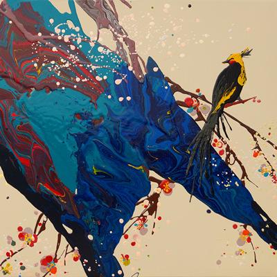 [A0137-0005] 花鳥(화조)
