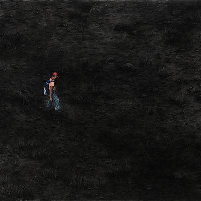 [A0140-0010] 걸어가는 사람