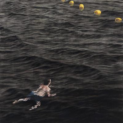 [A0140-0014] 수영하는 사람2