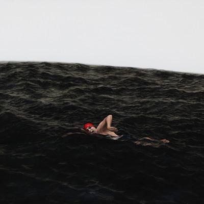 [A0140-0015] 수영하는 사람3