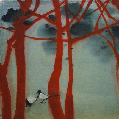 [A0141-0004] 소나무 숲