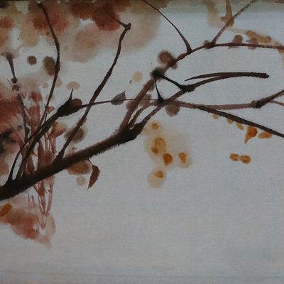 [A0141-0018] 가을 가지