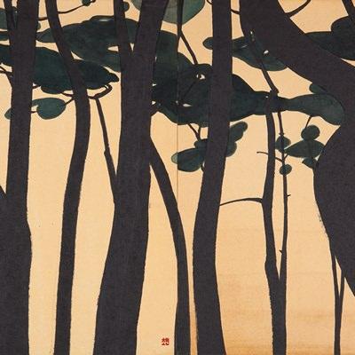 [A0141-0087] 소나무 숲