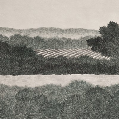 [A0143-0040] 시골길