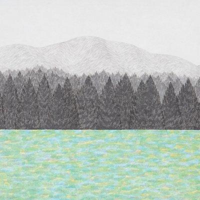 [A0143-0074] 호숫가 숲