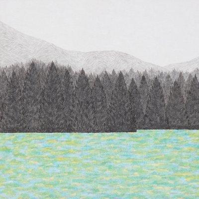 [A0143-0081] 호숫가 숲