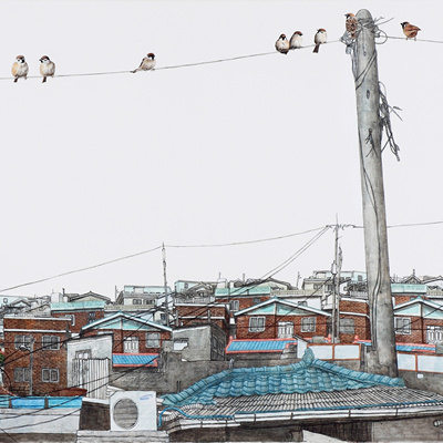 [A0150-0005] 眞景(진경)- 도원동