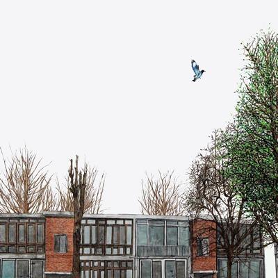 [A0150-0012] 眞景(진경)- 파랑새는 있다