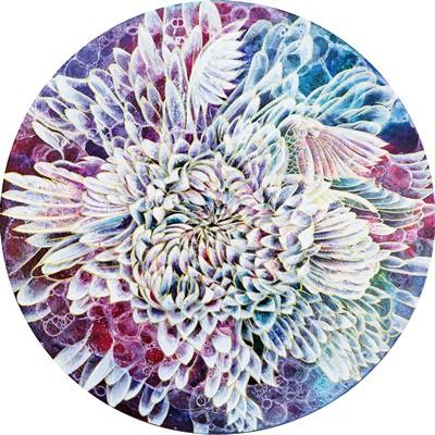 [A0153-0053] 학 꽃 - 날다