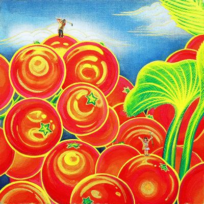 [A0154-0002] Orange Paradise - 휴가