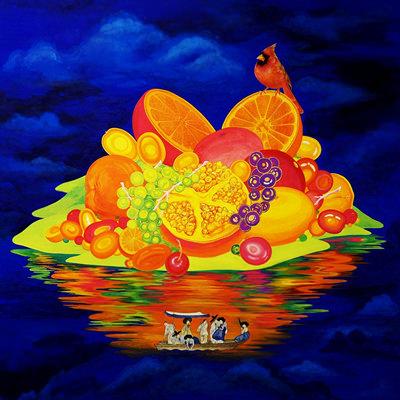 [A0154-0004] Orange Paradise - 무릉도원