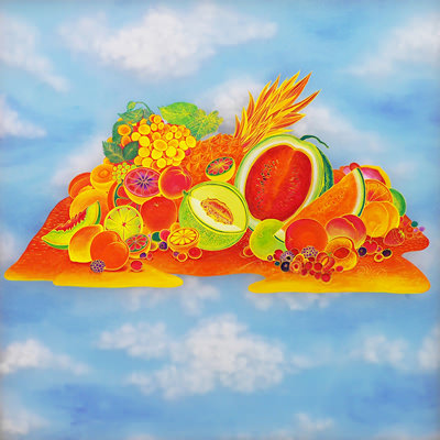 [A0154-0005] Orange Paradise - 환상의 섬Ⅰ
