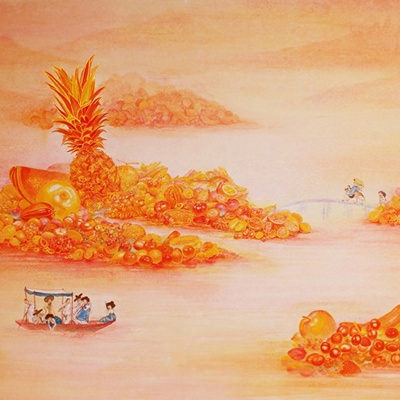 [A0154-0008] Orange Paradise