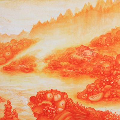 [A0154-0009] Orange Paradise - 해산정