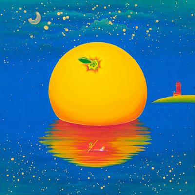 [A0154-0018] Orange Paradise Island