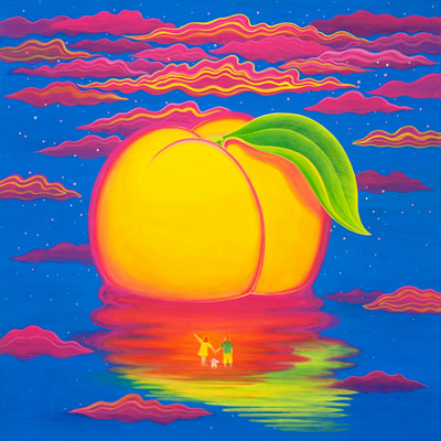 [A0154-0020] Peach Paradise Island