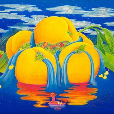 [A0154-0023] Peach Paradise