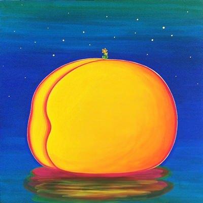 [A0154-0031] Peach paradise-island