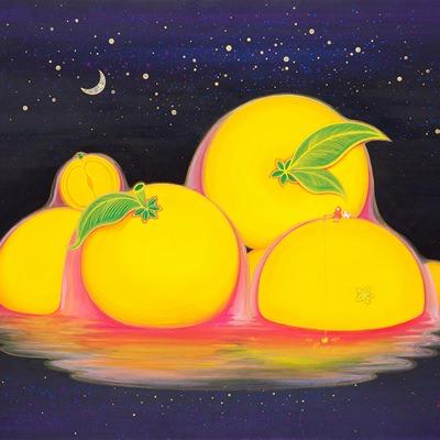 [A0154-0038] Orange Paradise