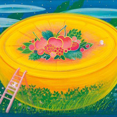 [A0154-0041] Orange Paradise