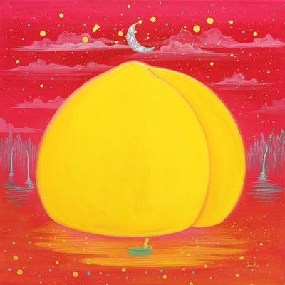 [A0154-0055] Peach Paradise IslandⅡ